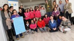 Down Caminar Ciudad Real reconoce  la implicación de Fundación Caja Rural CLM