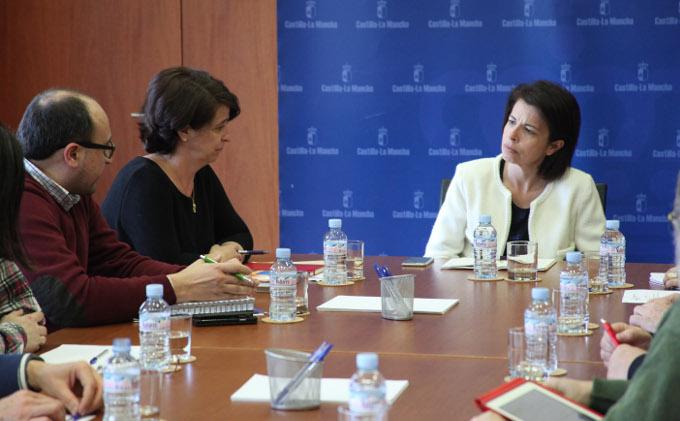 El Gobierno regional analiza con Down Castilla-La Mancha sus principales proyectos y necesidades