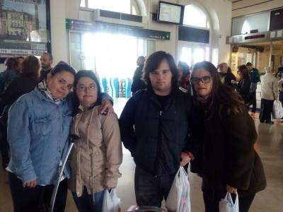 Participamos en el II Encuentro Nacional  de jóvenes de Down España