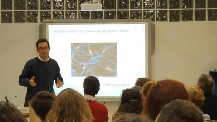 Gran asistencia en la charla del Dr. Lirio