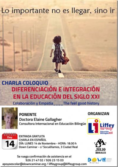 CHARLA COLOQUIO DIFERENCIACION E INTEGRACION EN LA EDUCACIÓN DEL SIGLO XXI