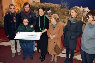 El Belén Municipal del Antiguo Casino recoge 1.828 euros para Down Ciudad Real Caminar