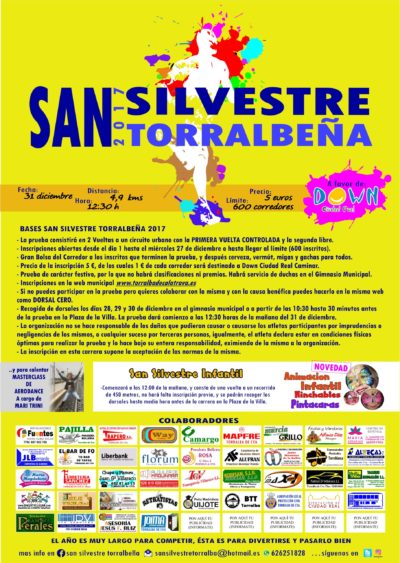 CARRERA DE SAN SILVESTRE A BENEFICIO DE DOWN CIUDAD REAL