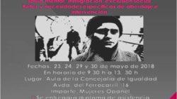 ASISTIMOS AL CURSO «VIOLENCIA DE GÉNERO EN CONTEXTOS DE VULNERABILIDAD»