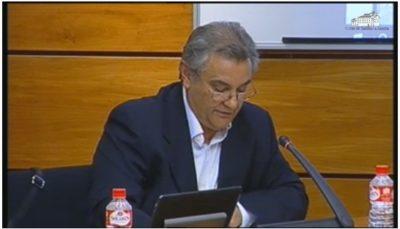 Comparecencia de D. Julián Carvajal Cordón, Presidente de la Federación de Síndrome de Down de Castilla-La Mancha, al objeto de que informe sobre sus actividades, propuestas y demandas.