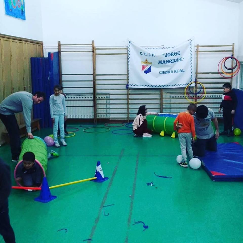 El equipo de Atención Temprana realiza una jornada de sensibilización en el colegio Jorge Manrique de Ciudad Real