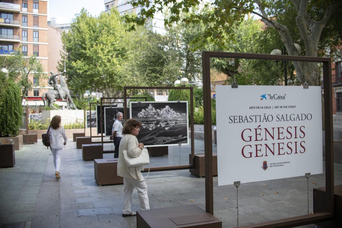 Nuestros chicos visitan la exposición Génesis de La Caixa