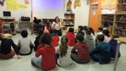 Compartimos experiencias con los niños del CEIP Alcalde José Cruz Prado
