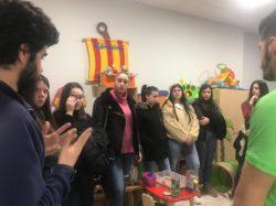 Recibimos la visita de los Alumnos del IES Atenea