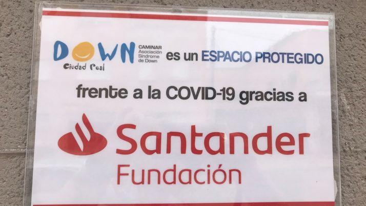 Somos Espacio Protegido gracias a Fund. Santander