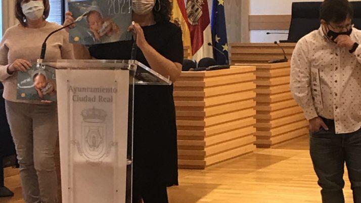 Presentación en el Ayuntamiento de Ciudad Real de nuestro calendario 2021